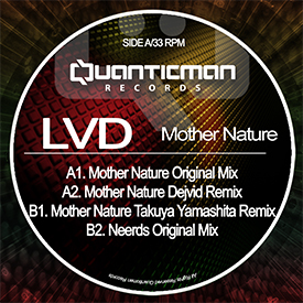 CONCRETE PR REVIEWS LVD – MOTHER NATURE OUT NOW ON QUANTICMAN RECORDS
