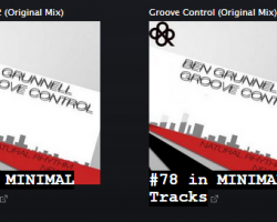 BEN GRUNNELL – GROOVE CONTROL CLIMBING THE CHARTS AGAIN