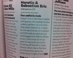 HORATIO & SEBASTIAN ERIC FEATURED INTO MIXMAG UK