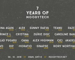 HORATIO LVD SINAPSE RIP AT 7 YEARS OF MOODYTECH
